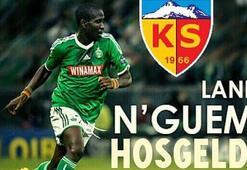 Nguemo, Kayserisporda 2 yıllık imza...