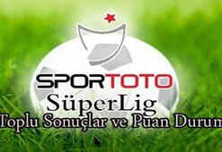 Süper Lig puan durumu (16.hafta)