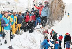 'Buzul şelaleleri Sibirya'yı aratmıyor'