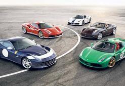Bu yılın Ferrari'sini şimdiden bitirdi...