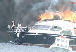 Yanan tekneden kurtulanlar Almanlar otomobil devinin yetkilileri çıktı