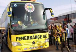 Otobüslerle Vodafone Arena'ya