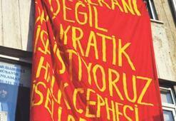 Bir afiş as, bir slogan at, 9 ay hapis yat