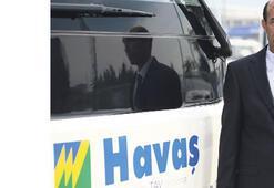 Çeşme ile havaalanı arası HAVAŞ servisi