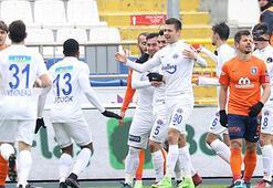 Kasımpaşadan Başakşehire ağır darbe: 4-0