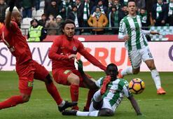 Atiker Konyaspor-Antalyaspor: 1-1