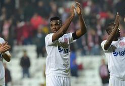 Antalyasporun ligin ilk yarısında attığı 25 gole 7 isim imza attı