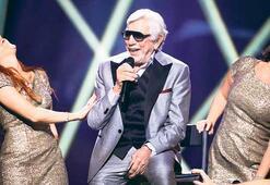 87 yaşında  Eurovision'a  aday oldu