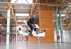 İnsan kontrollü uçabilen ilk Hoverbike kullanıma hazır