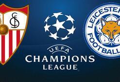 Sevilla Leicester maçı ne zaman saat kaçta hangi kanalda