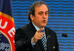 Michel Platiniden flaş karar
