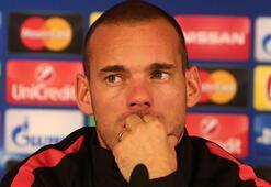 Galatasarayda Wesley Sneijder ayrılıyor...