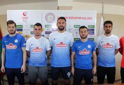 Çaykur Rizesporda yeni transferler tanıtıldı