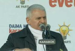 Başbakan Yıldırım CHPyi o isimle vurdu
