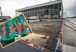 Olimpik tesisler harabeye dönüştü
