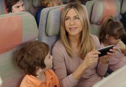 Elektronik cihaz yasağına Jennifer Aniston reklamı hamlesi