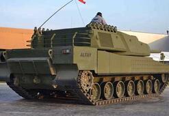 Milli tank Altaya motor Ukraynada bulundu