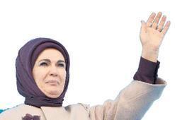 Emine Erdoğan, bugün Kemalpaşa'da