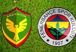 Amedspor Fenerbahçe maç sonucu: 3-3