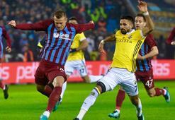 Trabzonspor - Fenerbahçe: 1-1 (İşte maçın özeti)