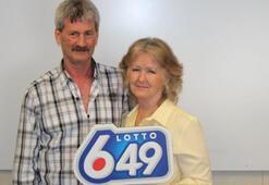 Kanadalı çifte üçüncü kez piyango çıktı