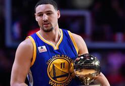 NBA 3 sayı yarışmasını Thompson kazandı