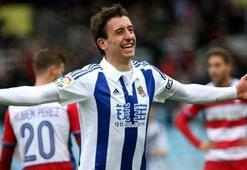 Real Sociedad-Granada: 3-0