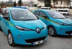 Elektrikli taksiler 15 Nisan'da yollarda