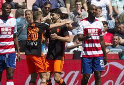 Granada-Valencia: 1-3