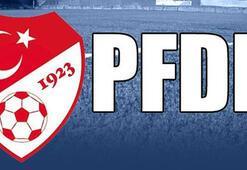 Eskişehirspor ve Gaziantepspor PFDKya sevk edildi