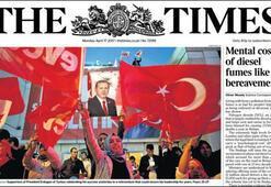 Son dakika: Referandum tüm dünyada manşet oldu