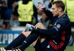 Bayern Münih kalecisi Neuerun ayağında kırık saptandı