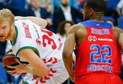 CSKA Moskova-Baskonia: 84-82