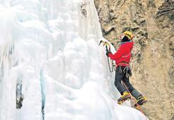 Buzul için Erzurum, kaya  için Antalya'da antrenman