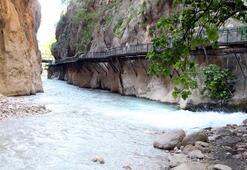 Saklıkent Kanyonu 500 bin ziyaretçi ağırlayacak