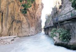 Saklıkent Kanyonu, 500 bin ziyaretçi bekliyor