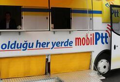 PTT mobil araçları yollarda