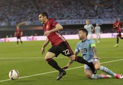 Celta Vigo-Manchester United maçından kareler