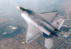 Milli Muharip Uçağı'nın fotoğrafı yayımlandı