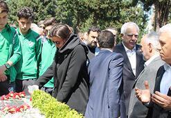 Bursasporun eski başkanı merhum İbrahim Yazıcı anıldı