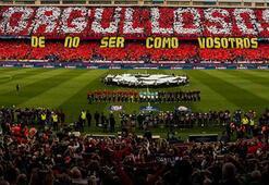 Real Madrid taraftarından, Atleticoya Galatasaray cevabı