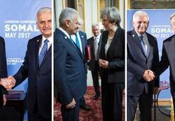 Başbakan Yıldırımdan ardı ardına kritik görüşmeler