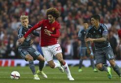 Manchester United - Celta Vigo maçından kareler