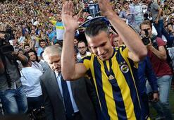 Van Persie: Fenerbahçede full kapasite ile çalıştım ama...