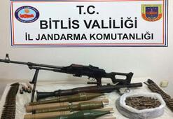 Güroymakta PKKya ait mühimmat ele geçirildi