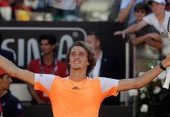 Roma Açıkta şampiyon Zverev