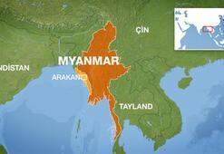 Myanmarda sivilleri öldüren askerlere hapis