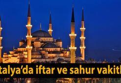 Antalya iftar saati kaçta Bugün için iftar saatleri 30 Mayıs Salı