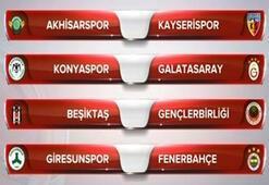 Ziraat Türkiye Kupasında kuralar çekildi Galatasaray, Beşiktaş, Fenerbahçe...