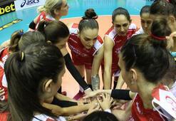 A Milli Kadın Voleybol Takımı, Kosovayı 3-0 mağlup etti